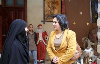 نائبة وزير السياحة والآثار تتفقد مكاتب تفتيش الآثار بمصر القديمة ومجمع الأديان   صور