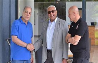 السفير المصري بزامبيا يزور بعثة الزمالك