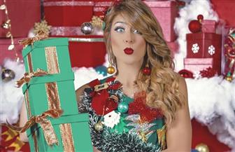 هيدي كرم بفستان شجرة الكريسماس: «يارب سنة 2020 تكون فرفوشة» | صور
