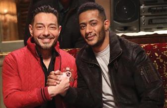 كواليس أول مشهد يجمع بين أحمد زاهر ومحمد رمضان في «البرنس» 2020 | صور