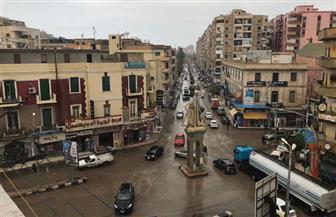 أمطار غزيرة على مدن وقرى كفرالشيخ تغرق الشوارع وتقطع الكهرباء | صور