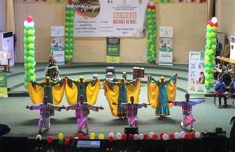 فرقة أسوان للفنون الشعبية تشارك في احتفالات أعياد الميلاد بتوجو|صور
