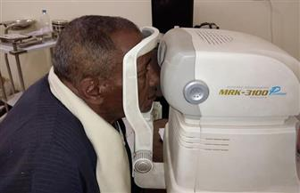 كشف طبي على 224 مواطنا بقافلة مجانية للعيون في «ششتا» بالغربية | صور