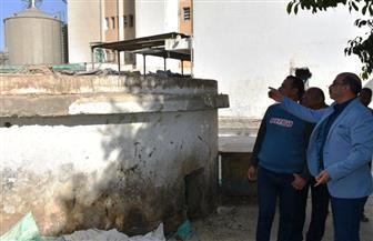 محافظ أسوان يمهل مصنع سكر كوم أمبو شهرا لتوفيق الوضع البيئي | صور