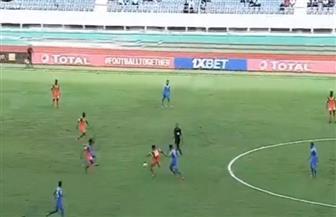 مصطفى محمد يحرز هدف الزمالك الأول في شباك زيسكو الزامبي
