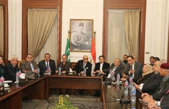 """""""عليا الوفد"""" توافق بالأغلبية على مشاركة الحزب فى اجتماع القوى الحزبية والسياسية"""