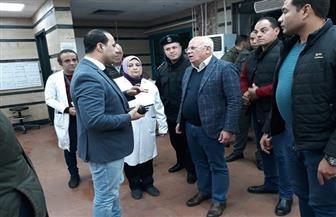 محافظ بورسعيد يشرف على نقل الوفيات والمصابين في حادث أتوبيس الاستثمار| صور