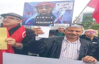 تظاهرات تونسية ضد التدخل العسكري التركي في ليبيا صور