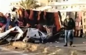 التفاصيل الكاملة لحادث بورسعيد يكشفها المحافظ: 10 آلاف جنيه لأسرة المتوفى و5 للمصاب| فيديو