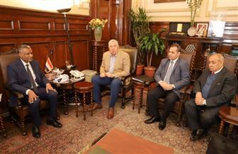 """وزير الزراعة يستقبل المدير القطري لـ""""الفاو"""" في مصر"""