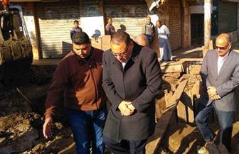 محافظ الشرقية يتفقد أعمال إصلاح وتغيير خط انحدار لمشروع الصرف الصحي بههيا  صور