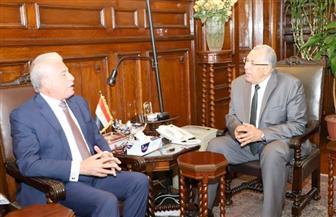 وزير الزراعة ومحافظ جنوب سيناء يناقشان موقف المشروعات المتوقفة | صور