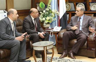 محافظ كفر الشيخ يستقبل رئيس هيئة الأوقاف | صور