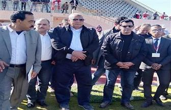 وزير الرياضة يفتتح مضمار ألعاب القوى بالوادي الجديد | صور