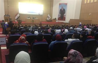 وزير الشباب يستعرض رؤية الوزارة وإستراتيجيتها في حوار مفتوح مع شباب الوادي الجديد | صور