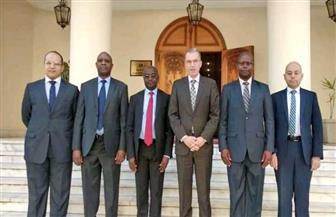 معهد الدراسات الدبلوماسية يستقبل وفدا من الأكاديمية الدبلوماسية الكينية