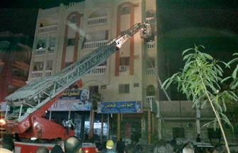 السيطرة على حريق داخل شقة فنانة في أكتوبر بسبب ماس كهربائي