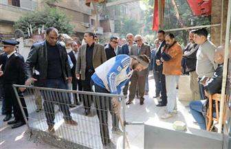 محافظ الجيزة ومدير الأمن يقودان حملة لتطهير شارع سليمان جوهر بالدقي من الإشغالات| صور