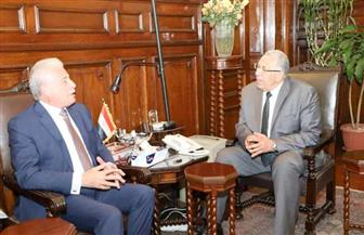 وزير الزراعة يبحث مع محافظ جنوب سيناء تحقيق تنمية زراعية شاملة بالمحافظة
