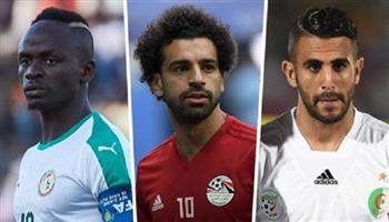 صلاح وماني ومحرز يحققون رقما إفريقيا لأول مرة في قائمة أفضل لاعب بالعالم