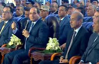 الرئيس السيسي يفتتح مركز التعليم المدني بدمياط