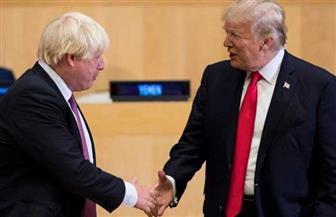 ترامب يعلن أنه سيلتقي بوريس جونسون خلال قمة الحلف الأطلسي