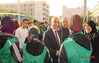 جامعة الزقازيق تفوز بـ16 ميدالية في بارالمبياد الجامعات المصرية | صور