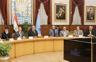 محافظ القاهرة يلتقي ممثل صندوق القروض الإيطالي لبحث تطوير شق الثعبان | صور
