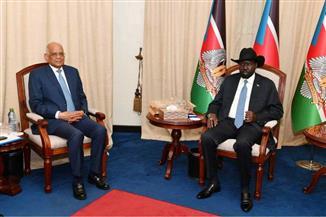 سيلفا كير خلال استقبال علي عبد العال: نتوقع زيادة عدد الشركات المصرية في جنوب السودان