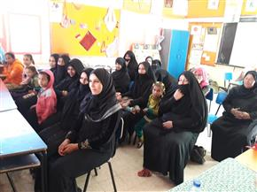 «أنواع العنف ضد المرأة» في لقاءات «القومي للمرأة» بالمدارس في الأقصر | صور
