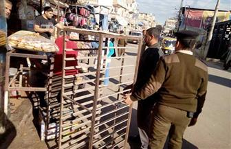 محافظ كفرالشيخ: تحرير 439 محضرا لإزالة الإشغالات بمركز الرياض | صور