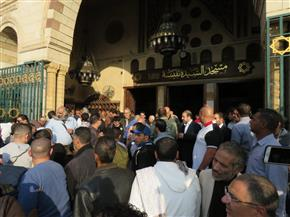 تشييع جنازتي محمد خيري وشعبان عبد الرحيم من السيدة نفيسة | صور