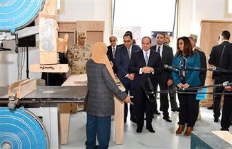 الرئيس السيسي يدعو لتطوير تصميمات الأثاث المصري.. ويوجه بدعم المصنعين