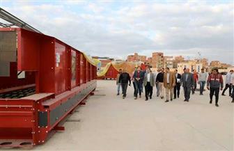 شهر مهلة لتركيب معدات خط فرز مصنع أبو خريطة لتدوير القمامة.. ومحافظ المنوفية يوجه بطرحه للاستثمار | صور