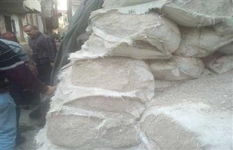 صحة الشرقية تضبط 16.2 طن أغذية فاسدة في أبوكبير | صور