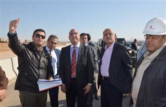 وزير الإسكان يتفقد محاور الطرق الرئيسية والكباري بمدينة 6 أكتوبر | صور