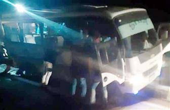 صحة بورسعيد: خروج مصابي حادث انقلاب أتوبيس النادي المصري عدا واحدا يحتاج لعملية جراحية