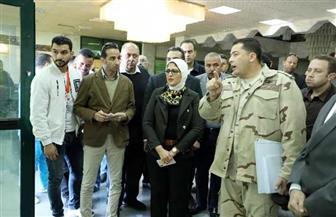 في إطار تطبيق التأمين الصحي بجنوب سيناء.. وزيرة الصحة تشيد بتطوير مستشفى رأس سدر | صور