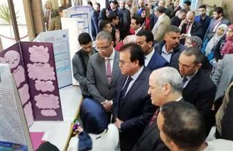 وزير التعليم العالي ومحافظ الفيوم ورئيس الجامعة يفتتحون مستشفى الأطفال الجديد | صور
