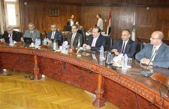 محافظ الغربية يشهد اجتماع مجلس جامعة طنطا | صور