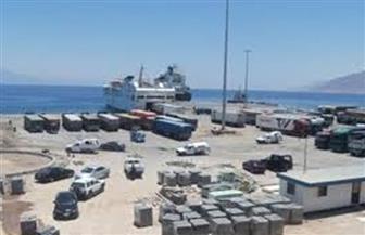 اختلاس بضائع من داخل أحد مخازن الجمارك بميناء نويبع البحري