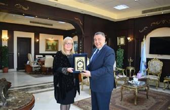 محافظ البحر الأحمر يبحث زيادة أعداد السائحين مع سفيرة سلوفينيا بالقاهرة | صور