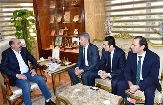محافظ أسوان يلتقي مستثمري بنبان