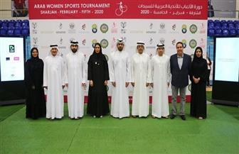دورة الألعاب العربية للسيدات 2020 بالشارقة توقع 4 اتفاقيات مع القطاع الخاص   صور
