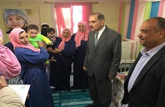 محافظ كفر الشيخ يتفقد منشآت خدمية وتعليمية | صور