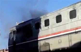 السكة الحديد: السيطرة على حريق محدود بالعربة الأخيرة من قطار 539 بحوش محطة كفر الزيات