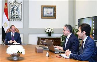 الرئيس السيسي يوجه ببلورة تصور شامل يحقق التكامل والتناغم بين قطاع السياحة والآثار