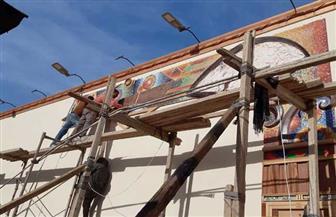 محافظ أسيوط: تركيب جدارية جديدة بميدان المحطة وتطوير ميدان سيتي| صور