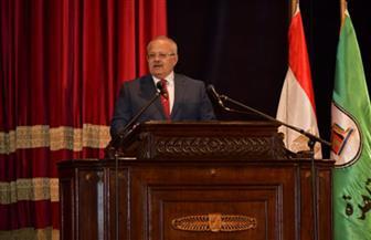 رئيس جامعة القاهرة للطلاب: ارتقوا بالذوق الفني ولا تنخدعوا بانتشار الفن الهابط |صور