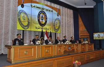 أكاديمية الشرطة تستقبل طلبة كليات الحقوق من الجامعات المصرية لتعريفهم بدورها في إعداد وتأهيل الضباط | صور
